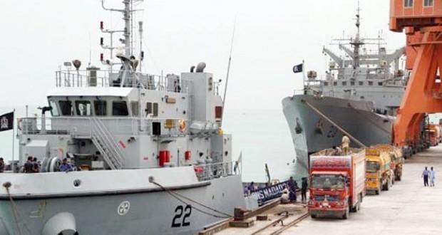 Functional Gwadar port