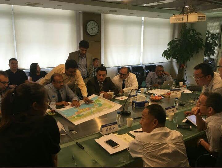 Finalizing Master Plan Gwadar