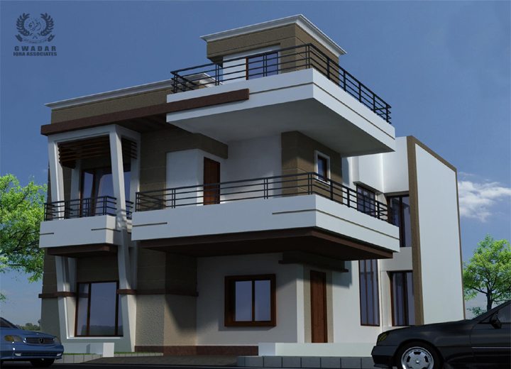 Residential Plot For Sale Sea View Front 235 square yard Plot In In Sangar Housing Scheme Phase 1.